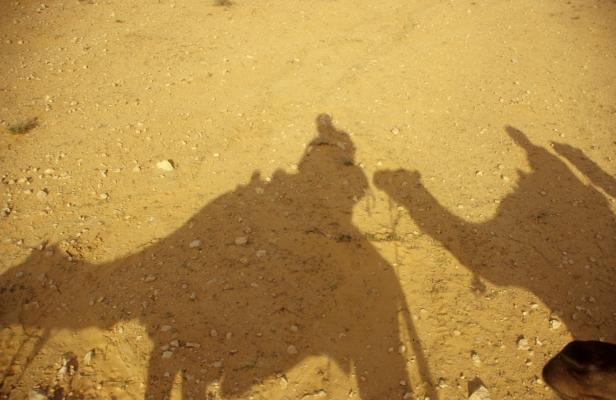 Ein Schatten meiner selbst (und meines Kamels)